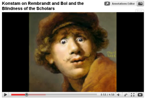 New YouTube Video: Rembrandt and Bol