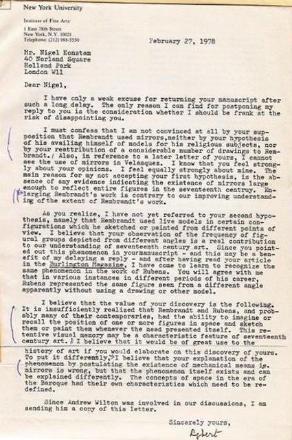 begermann letter