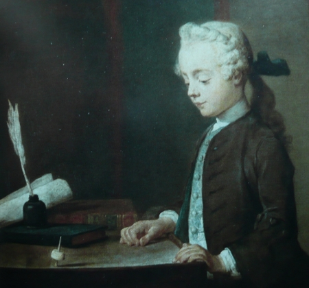 Chardin - Boy with a top